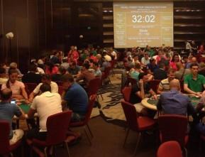 Mesele de joc au fost pline pe tot parcursul editiilor anterioare Israel Poker Tour.