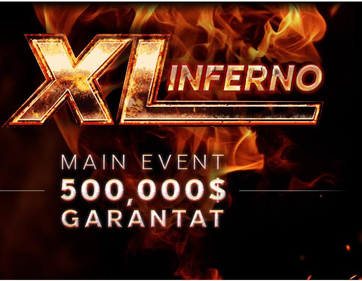 Sapte zile pana la startul seriei XL Inferno pe 888poker. Bonus de bun-venit de 3000 RON pentru clientii noi