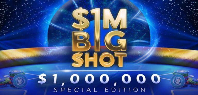 Sunday Big Shot editie speciala pe 888 cu $1.000.000 garantat. Flight-uri de start in derulare pana pe 27 septembrie