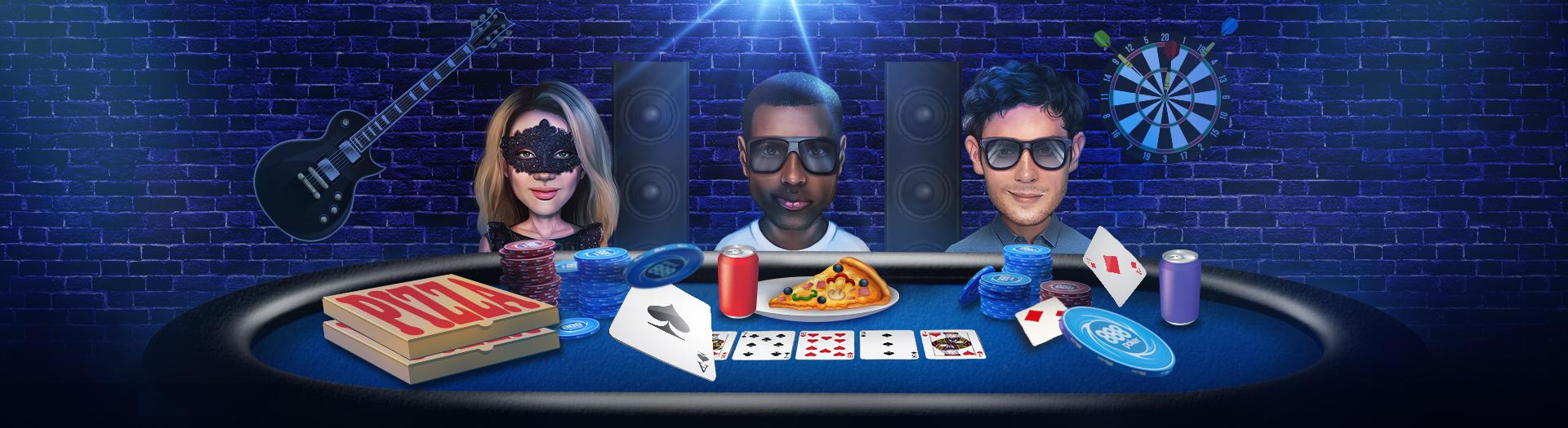 Joaca poker cu prietenii pe 888! Organizeaza o noapte de poker!